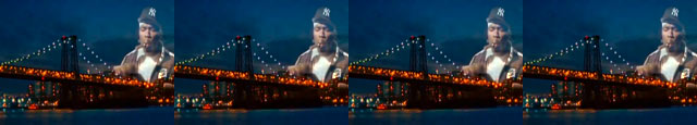 Giant Rappers Green Screen - 50 Cent