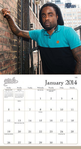 Year In Wale Calendar - 2014