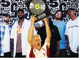 Pete Carroll and Jurassic 5